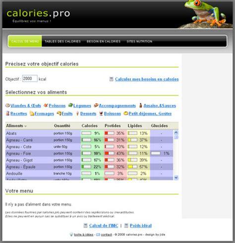 calcolatore calorie alimenti calcul des calories