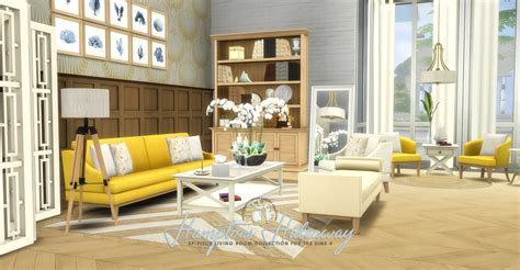 Dining Room Bench Seating by Simsational Designs Updated Hamptons Hideaway Living