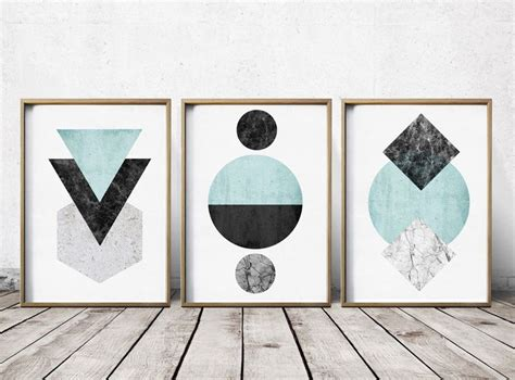 art review pattern and decoration gallery wall print set art prints abstract art prints