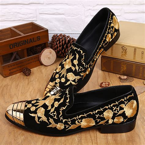 black and gold loafers mens mens black studded loafers replica