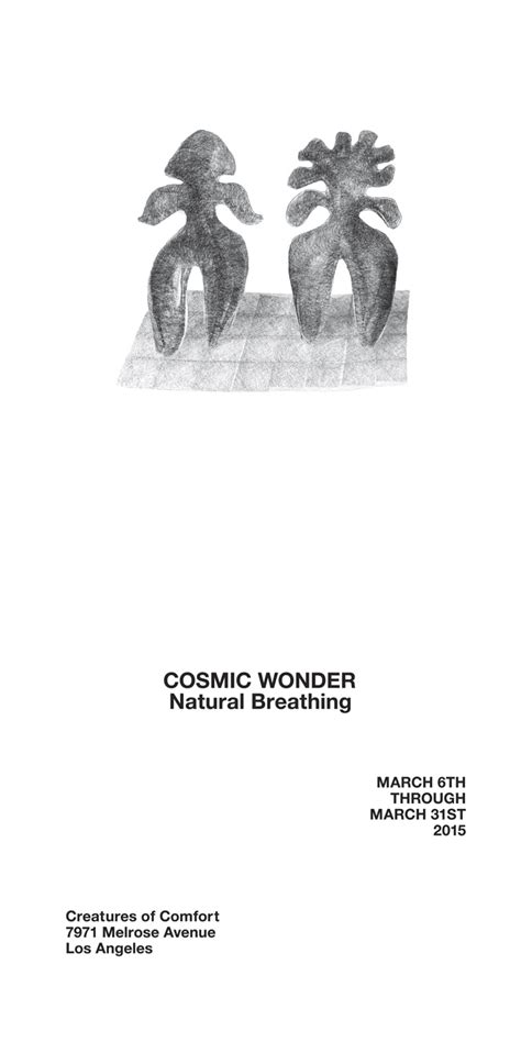 creatures of comfort melrose cosmic wonder natural breathingat creatures of comfort la