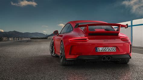 porsche gt3 red guards red 2018 porsche 911 gt3 shines in its birthday