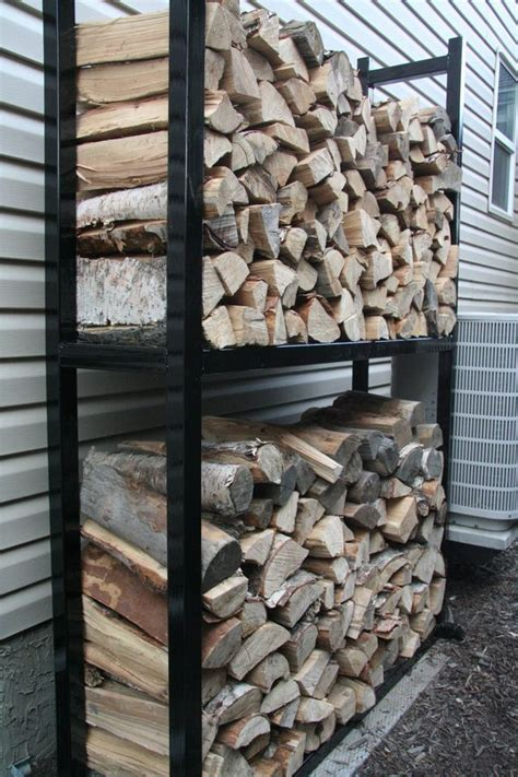 metal work gordsgarage blog outdoor firewood rack