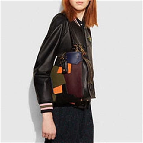 Coachs Colorful New Patchwork Satchel by Coach Designer Purses Rogue Bag In Patchwork Leather