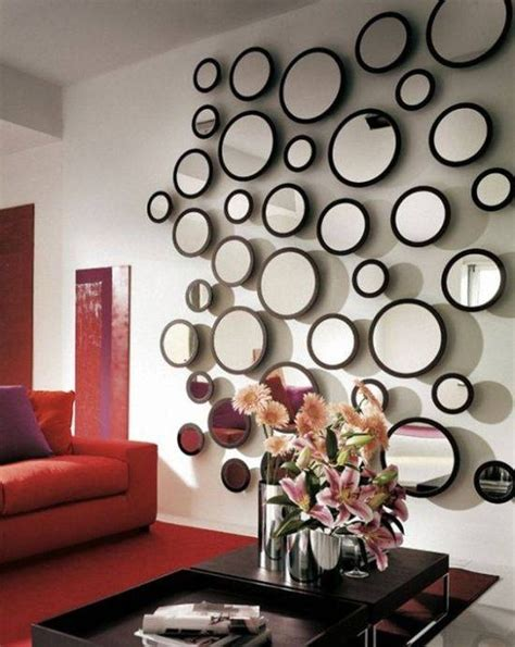 living room decorating ideas with mirrors ultimate home 30 best ideas of funky round mirrors