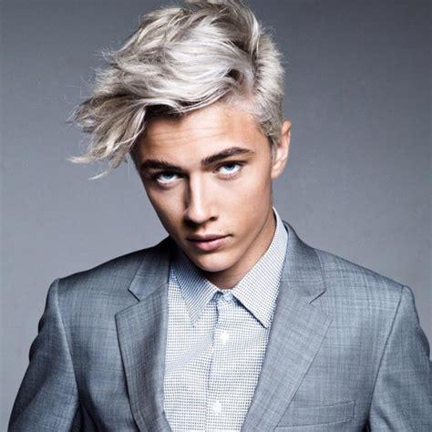 do men like grey hair how to lucky blue smith and zayn malik gray hair dye