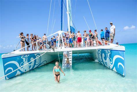 glass bottom boat turks and caicos turks caicos catamaran island routes