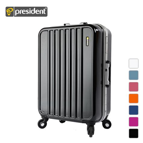 president luggage 20 president 20 24 26 29 abs universal wheels trolley luggage