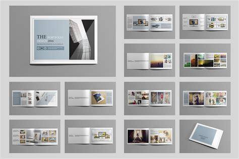 portfolio design template indesign portfolio brochure v419 brochure templates