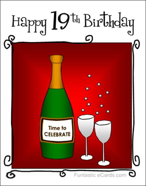 Happy 19th Birthday Quotes 19th Birthday Quotes Funny Quotesgram