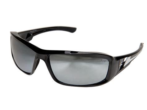 edge eyewear brazeau safety glasses black silver xb117