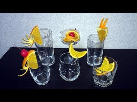 超簡単 カクテル デコレーション オレンジ編 simple cocktail decoration