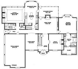 One Story House Plans With Bonus Room 653617 2 story french traditional home with 4 bedrooms