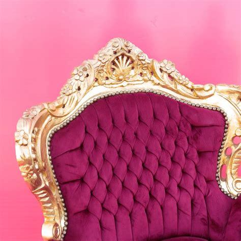 poltrona stile barocco poltrona barocco marsiglia oro con tessuto bord 242