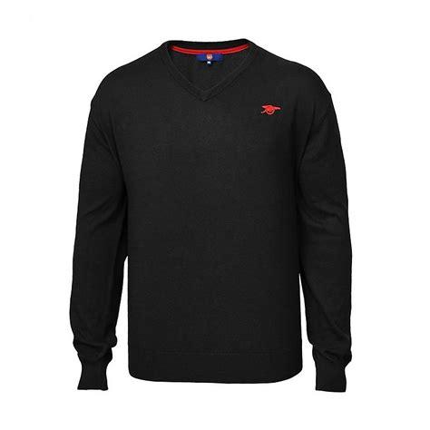 arsenal jumper arsenal black v neck jumper official online store
