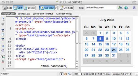 dreamweaver tutorial javascript adobe dreamweaver cs4 top 8 de novedades