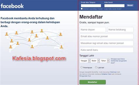 buat akun facebook mendaftar cara membuat akun facebook baru