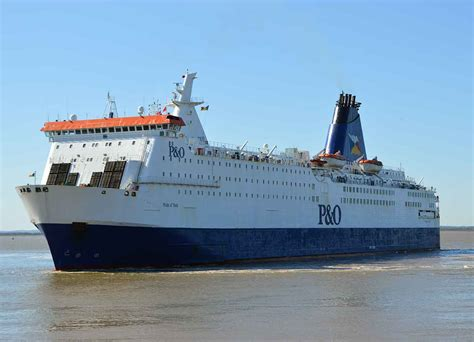 pride of p o ferries ships go to poland for refit ships monthly