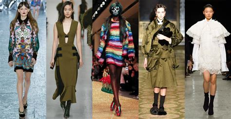 Fall Fashion Trends by All Trends From Fashion Week Fall Winter 2017 2018