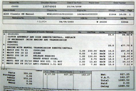 Bert Rowe S Mercedes Benz A Class Info Components Parts