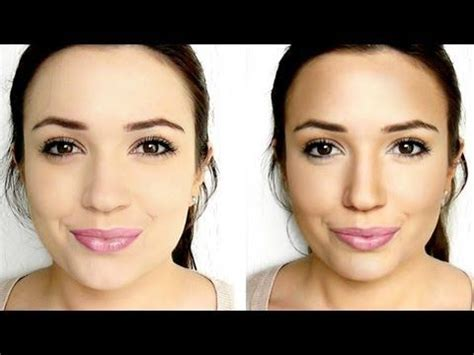 natural makeup contouring tutorial how to contour contours and bronzer on pinterest