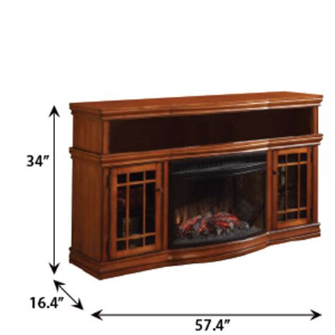Muskoka Dwyer Electric Fireplace by Dwyer Electric Fireplace Entertainment Center In Burnished