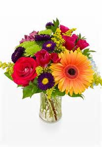 flowers in a vase pictures colorful mixed flowers in a