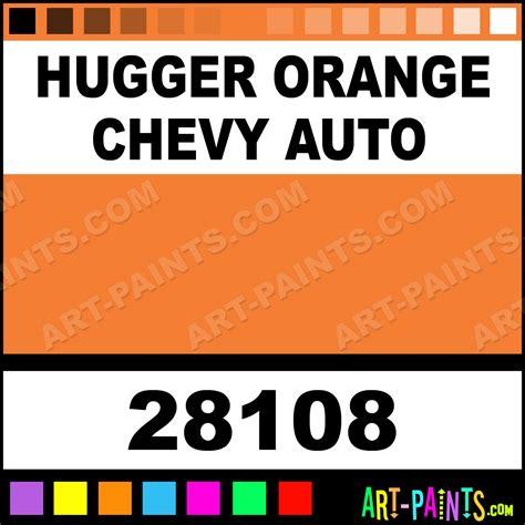 hugger orange chevy auto auto lacquer spray paints 28108