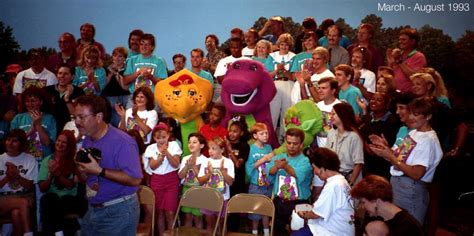 barney and the backyard gang cast image b200group1 jpg barney wiki fandom powered by wikia