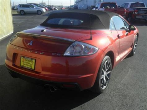 used mitsubishi eclipse spyder convertible for sale find used 2010 mitsubishi eclipse spyder gt convertible 2