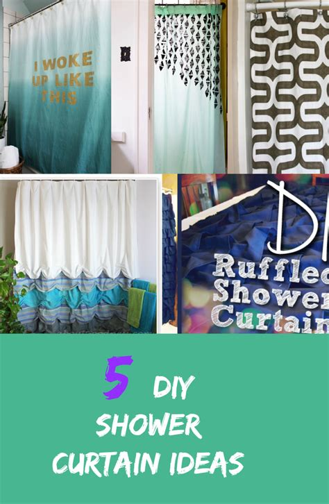homemade curtain ideas diy bathroom curtain ideas hometalk diy shower curtain