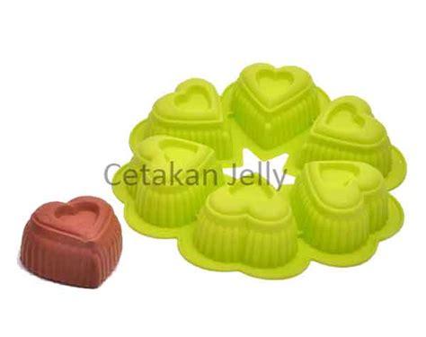 Cetakan Kue Puding 6 Cavity Berkualitas cetakan silikon puding kue medium 6 cavity cetakan