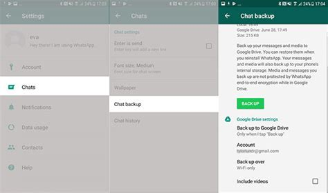 how to backup and restore whatsapp backup on android