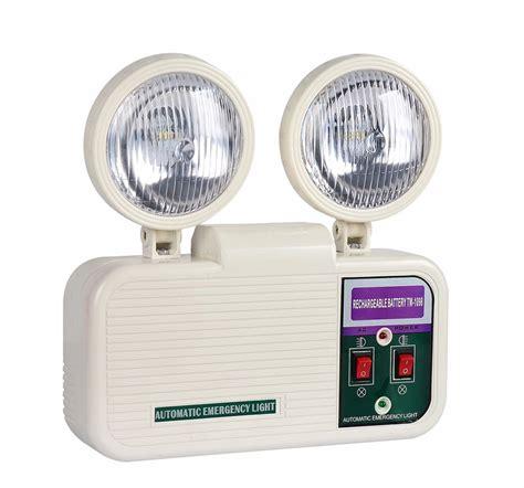 in emergency backup lights battery backup automatic led recharging emergency lights