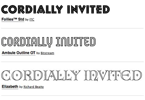 Wedding Font Default by Great Font Combinations For Your Wedding Invitations