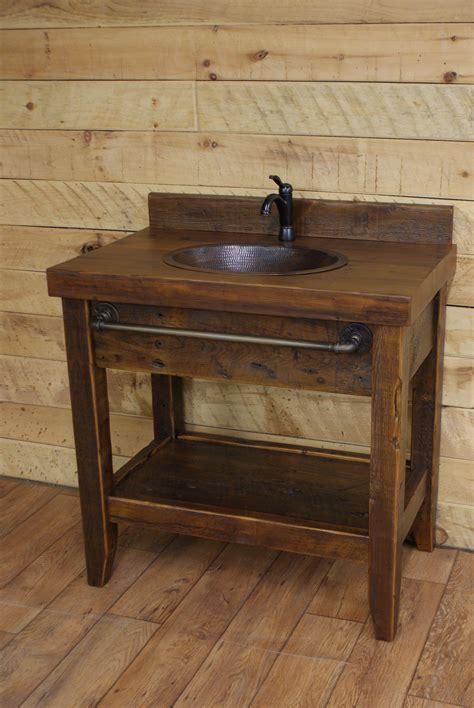 vanity badezimmer reclaimed timber 36 quot vanity badezimmerideen
