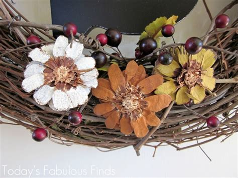 how to make pine cone flowers flower power pinterest top 43 ideas about pine cone wreaths on pinterest diaper