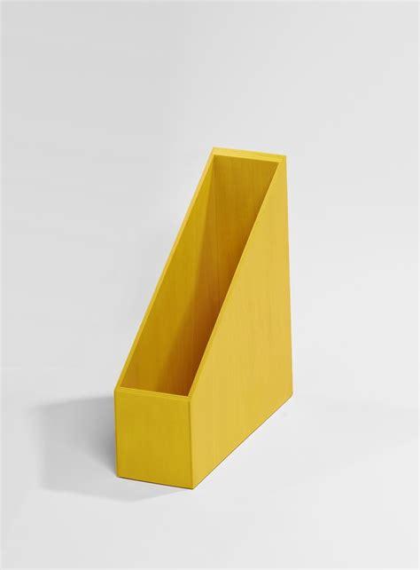 le de bureau jaune boite de rangement jaune pour dossier kollori