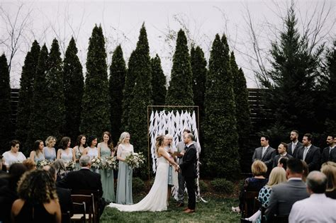 wedding nashville modern nashville wedding brad jen nashville wedding