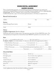 Template For Rental Agreement rental agreement free rental lease agreement form