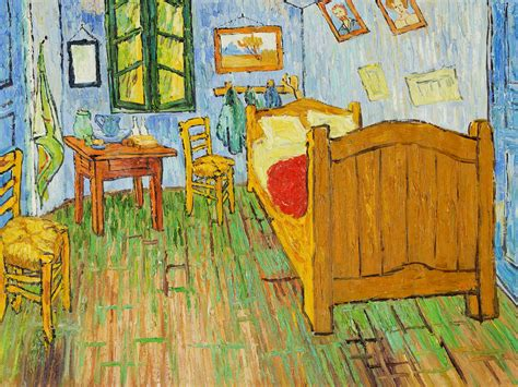 vincent van gogh the bedroom 1889 vincent van gogh art
