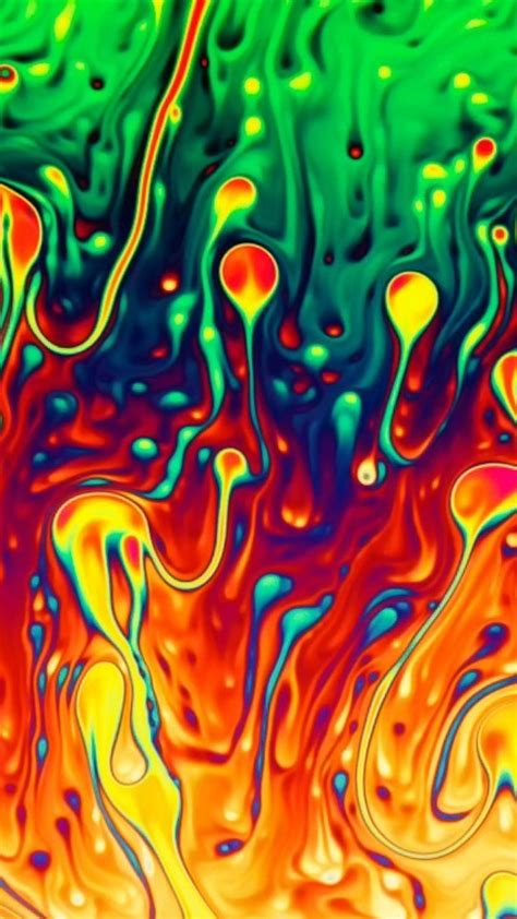 abstract liquid colors wallpaper
