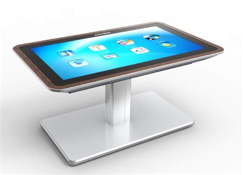 Tablet Coffee Table Mesa Interactive Coffee Table Is 46 Inch Tablet For Your