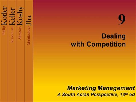 Post Mba Competition by Dealing With Competition Authorstream