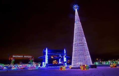 photos bentleyville lights up duluth minnesota