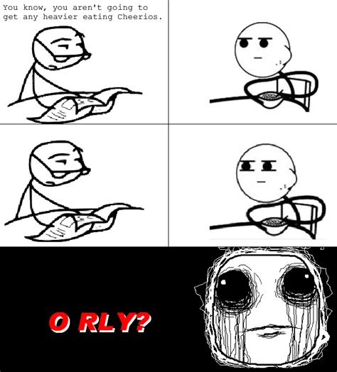 Cereal Meme Spit - image 159542 cereal guy know your meme