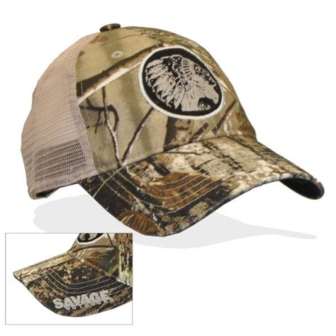 camo hat savage outdoors logo cap mesh camo savage outdoors