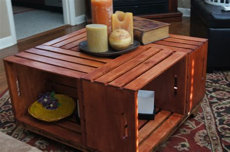 diy crate diy wooden crate coffee table woodworking projects