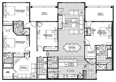 floor plan condo 4 bedroom condo plans breckenridge bluesky condos floor