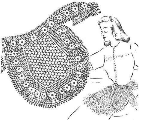 dot pattern pdf 194 best images about crochet aprons on pinterest filet